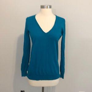 JCrew Sweater Size S Blue Teal